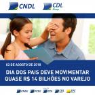 Dia dos Pais deve movimentar quase R$ 14 bilhões no varejo brasileiro