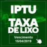 IPTU e taxa do lixo 2019 já podem ser pagos