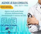 Saúde Ocupacional: CDL apresenta solução para os empresários