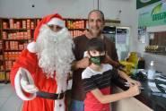 Papai Noel no Trevão Lubrificantes 2020